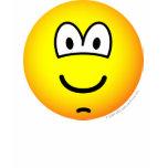 Chin dimple emoticon   womens_apparel_tshirt