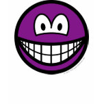 Colored smile violet  womens_apparel_tshirt