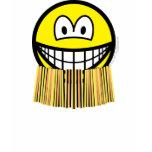 Grass skirt smile   womens_apparel_tshirt