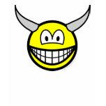 Horny smile   womens_apparel_tshirt