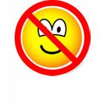 No sad emoticons   womens_apparel_tshirt