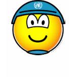 UN soldier emoticon   womens_apparel_tshirt