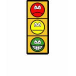 Traffic light smile happy - neutral - sad  womens_apparel_tshirt