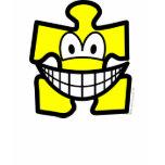 Jigsaw piece smile   womens_apparel_tshirt