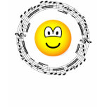 Musical emoticon   womens_apparel_tshirt