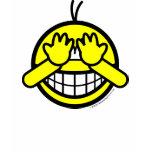 Peek-a-boo smile   womens_apparel_tshirt
