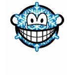 Snowflake smile   womens_apparel_tshirt