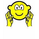 Fingers crossed buddy icon   womens_apparel_tshirt