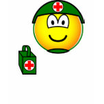 M*A*S*H emoticon medic  womens_apparel_tshirt