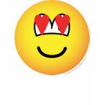Emoticon in love   womens_apparel_tshirt