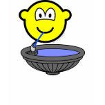Water fountain buddy icon drinking  womens_apparel_tshirt
