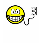 Plugged in smile   womens_apparel_tshirt