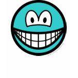 Colored smile azure  womens_apparel_tshirt