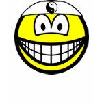 Karate smile   womens_apparel_tshirt