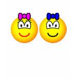 Twins emoticon   womens_apparel_tshirt