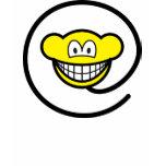 Web monkey smile   womens_apparel_tshirt