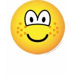 Freckles emoticon   womens_apparel_tshirt