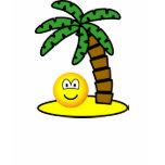 Desert island emoticon   womens_apparel_tshirt