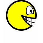 En profile smile Left  womens_apparel_tshirt