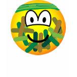 Camouflage emoticon   womens_apparel_tshirt