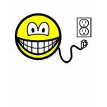 Unplugged smile Sad  womens_apparel_tshirt