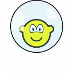 Buddy icon living in a bubble   womens_apparel_tshirt