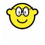 Buddy icon with glasses   womens_apparel_tshirt