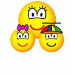 Single mother emoticon   womens_apparel_tshirt