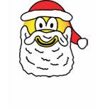 Santa emoticon   womens_apparel_tshirt