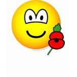 Poppy emoticon   womens_apparel_tshirt