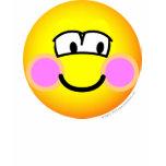 Shy emoticon   womens_apparel_tshirt