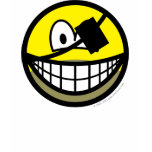 Bearded pirate smile   womens_apparel_tshirt
