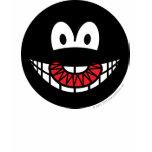 Evil smile Devilish  womens_apparel_tshirt