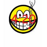 Stoner 4:20 smile   womens_apparel_tshirt