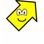 Up right buddy icon arrow  womens_apparel_tshirt
