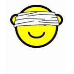 Blindfolded buddy icon   womens_apparel_tshirt