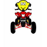 Quad bike buddy icon China quad  womens_apparel_tshirt