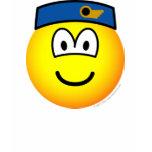 Stewardess emoticon   womens_apparel_tshirt