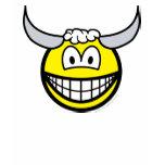 Taurus smile Zodiac sign  womens_apparel_tshirt