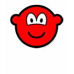 Colored buddy icon red  womens_apparel_tshirt