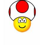 Toad emoticon video game  womens_apparel_tshirt