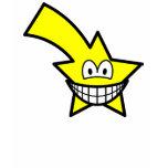 Shooting star smile   womens_apparel_tshirt