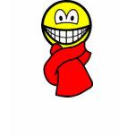 Scarf smile   womens_apparel_tshirt