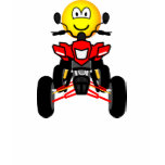 Quad bike emoticon China quad  womens_apparel_tshirt