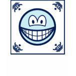 Delft blue smile   womens_apparel_tshirt