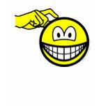 Head scratching smile   womens_apparel_tshirt