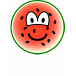 Watermeloen emoticon   womens_apparel_tshirt