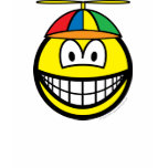 Propeller cap smile   womens_apparel_tshirt