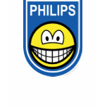 Philips smile Let's make things smile  womens_apparel_tshirt
