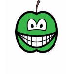 Apple smile   womens_apparel_tshirt